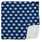 Kickee Pants Toddler Blanket - Vintage Stars