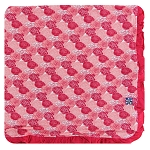 Kickee Pants Ruffle Toddler Blanket - Roses