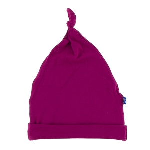 Kickee Pants Basic Knot Hat - Dragonfruit
