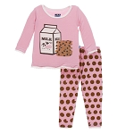 Kickee Pants Pajama Set - Lotus Cookies