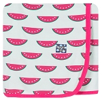 Kickee Pants Swaddling Blanket - Watermelon