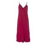 Kickee Pants Ruffle Nightgown - Crimson