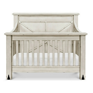Franklin & Ben Providence Crib - Distressed White