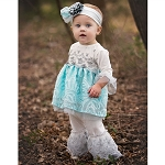 Haute Baby Elsas Magic Tunic Set