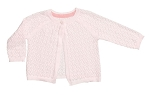 Angel Dear Pink Pointelle Cardigan