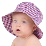 Huggalugs Red, White & Blue Sun Hat
