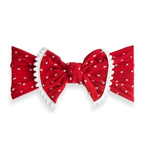 Trimmed Classic Knot - Shabby Cherry Dot