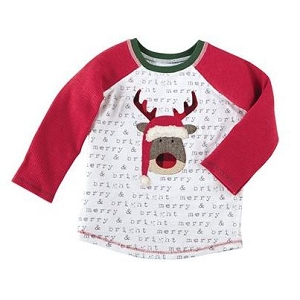 Mud Pie Alpine Village Tee - Reindeer
