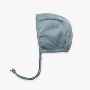 Ribbed Baby Bonnet - Sea Green