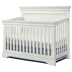 Westwood Riley Convertible Crib - Brushed White