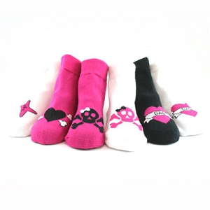 Me in Mind Girls Rocker Socks