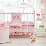 Rosebud Lane Crib Bedding Set