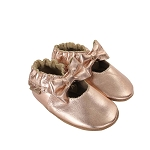 Robeez Rosie Moccasin - Rose Gold