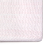 Oilo ZigZag Crib Sheet - Blush