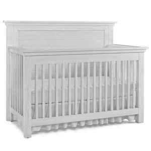 Dolce Baby Lucca Flat Top Full Panel Crib - Sea Shell