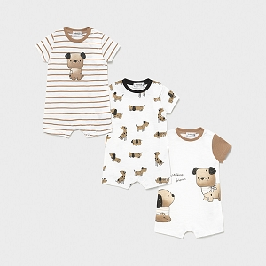 Mayoral Camel Dog Romper