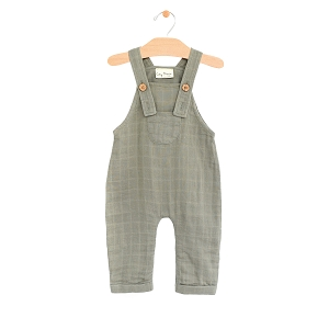 PNW Baby Muslin Overall - Sage