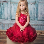 Haute Baby Ruby Sparkle Dress