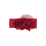 Haute Baby Ruby Sparkle Headband