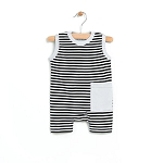 PNW Baby Striped Tank Romper