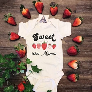 Sweet Like Mama Onesie/Tee