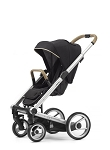 Mutsy Igo Special Edition - Silver Chassis with Camel Handle & Reflect Cosmo Black Seat