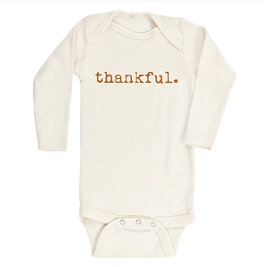 Thankful Organic Long Sleeve Onesie
