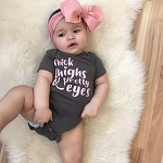 Thick Thighs & Pretty Eyes Onesie