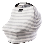 Milk Snob Cover - Cream & Grey Stripe
