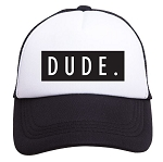 Tiny Trucker Hat - Dude