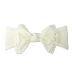 Trimmed Classic Knot - Ivory Lace