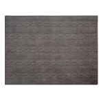 Lorena Canals Braids Rug - Dark Grey