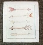 Watercolor Arrow Sign