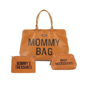Mommy Bag Bundle - Leatherlook Brown