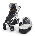 2017 UPPAbaby Vista - Loic (White/Silver/Leather)