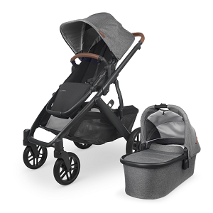 2021 UPPAbaby Vista V2 Stroller - Greyson Charcoal Melange (New Color)