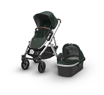 2017 UPPAbaby Vista - Austin (Hunter/Silver/Leather)