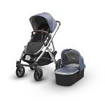 2018 UPPAbaby Vista - Henry (Blue Marl/Silver/Leather)