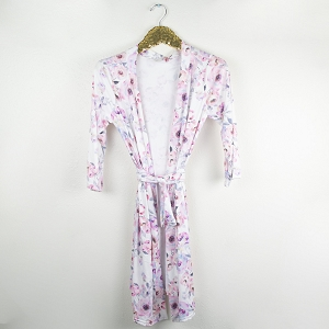 Mommy Robe - Watercolor Floral