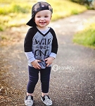 Wild & One Birthday Raglan