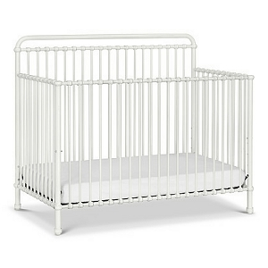 MDB Winston 4-in-1 Iron Crib - Washed White