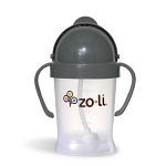 Zoli Bot Sippy Cup - Gray