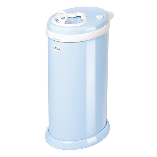 Ubbi Light Blue The Only Diaper Pail Made Of Steel To