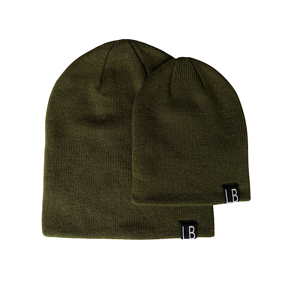 Forest Green Knit Beanie
