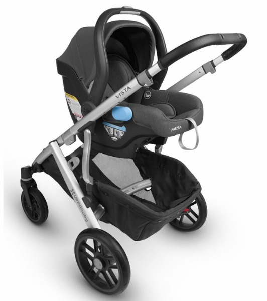 2018 UPPAbaby Vista in The Boutique Exclusive Gregory with Leather