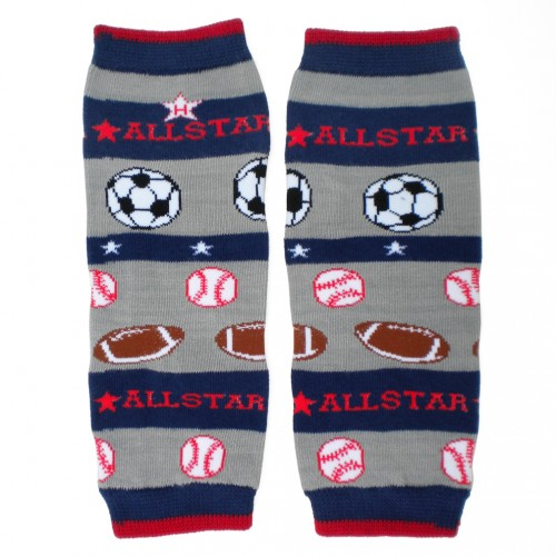 Huggalugs Legwarmers Baby All Star
