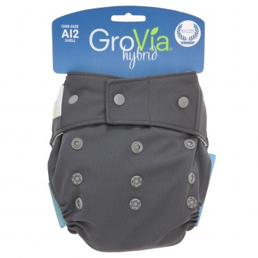 GroVia Shell Snap Closure - Cloud