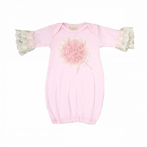 Haute Baby Pink Lullaby Gown