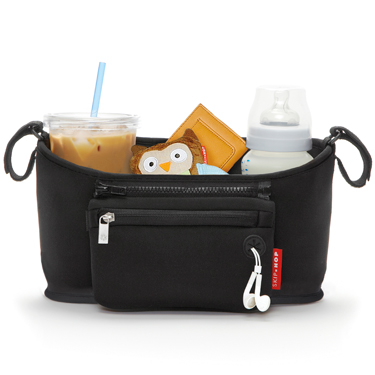 Grab and Go Stroller Organizer - Black