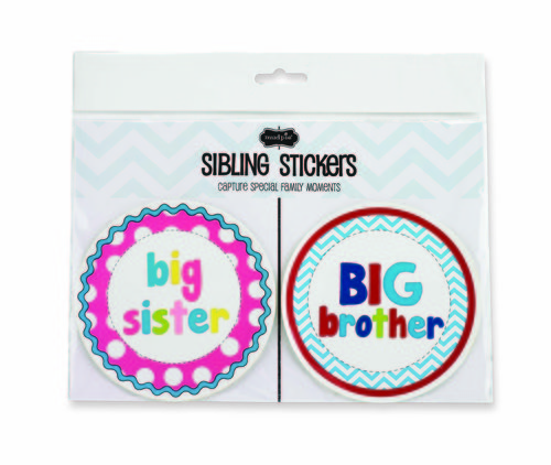 Mud Pie Sibling Milestone Stickers